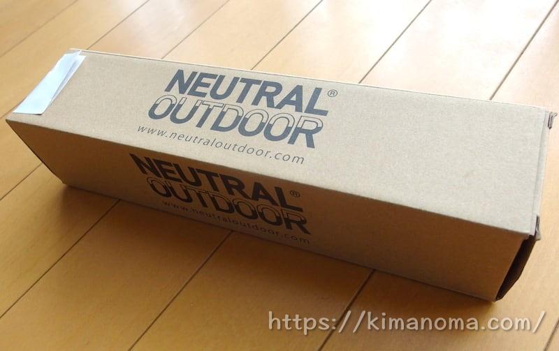 ニュートラルアウトドア チェア 外箱