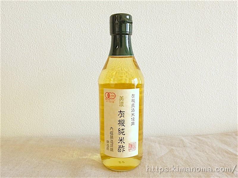 美濃 有機純米酢