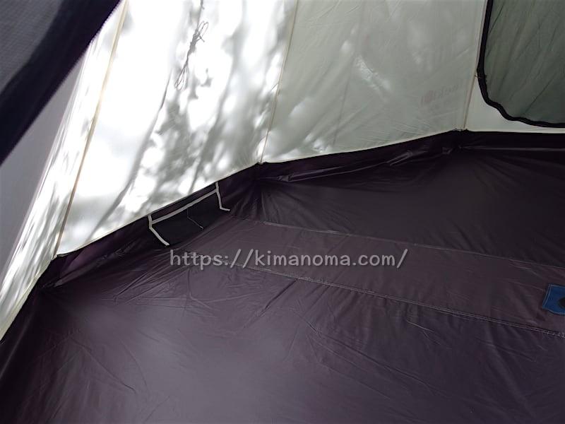 UJack ワンポールテント DESERT300 テント内のポケット