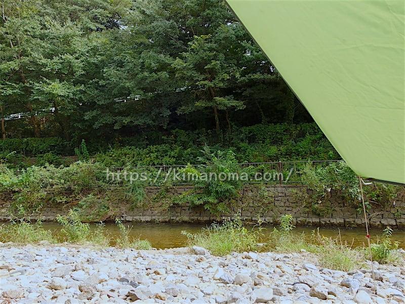 柳瀬川河原