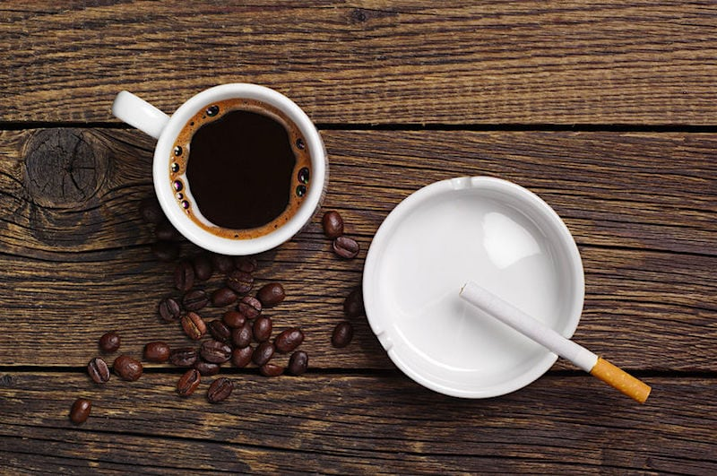 コーヒーとタバコ