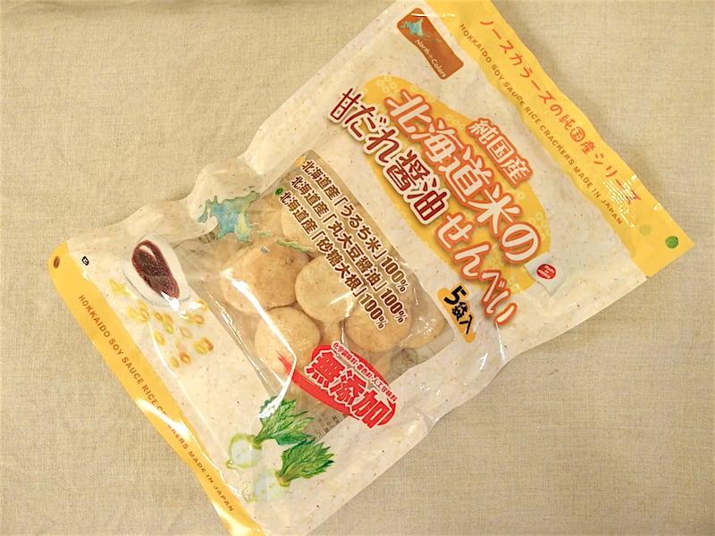 ノースカラーズ 純国産 北海道米の甘だれ醤油せんべい